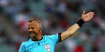 داور هلندی بازی ایتالیا و انگلیس مشخص شد