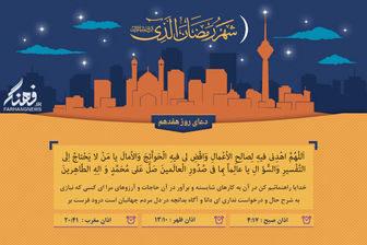 دعای روز هفدهم ماه رمضان + پوستر و صوت
