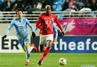 دومین شکست گوانگجوی چین در لیگ قهرمانان آسیا