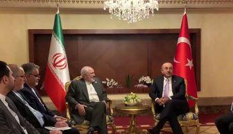 تشکر ظریف از اظهارات اردوغان درباره تحولات عراق