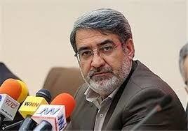 پیام تسلیت وزیر کشور در پی شهادت سید نورخدا موسوی