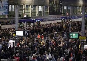 تمدید اعتصاب راه آهن فرانسه