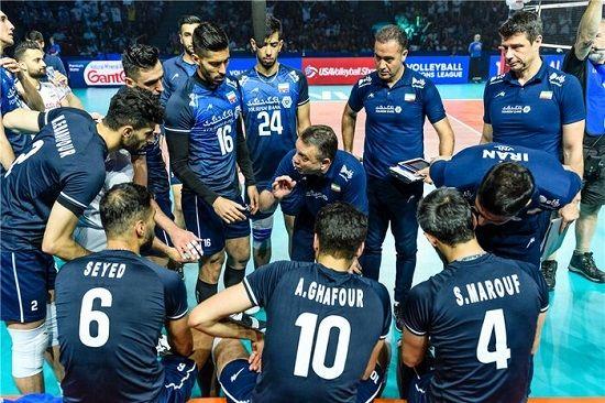 ایران از لیگ ملتهای والیبال حذف شد