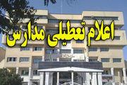 باد؛ مدارس 5 شهرستان سیستان و بلوچستان  را تعطیل کرد