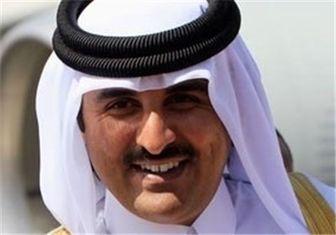 آرزوی سلامتی امیر قطر برای رهبر معظم انقلاب