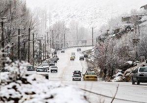 هشدار کولاک برف طی امروز و فردا