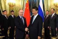 تاکید پوتین بر گسترش روابط نظامی روسیه و چین