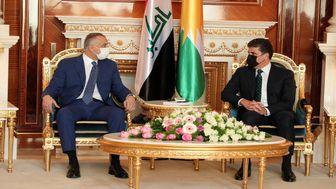جزئیات دیدار نخستوزیر عراق و رئیس منطقه کردستان