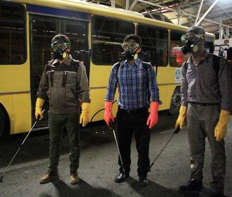 کمبود نیرو برای ضد عفونی ناوگان اتوبوسرانی پایانه میدان آزادی از چه قرار است؟