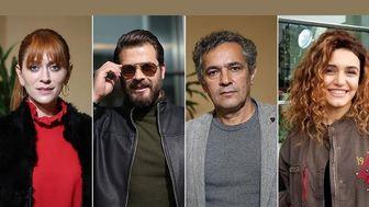 پژمان بازغی، هم بازی بازیگر زن ترکیه ای شد