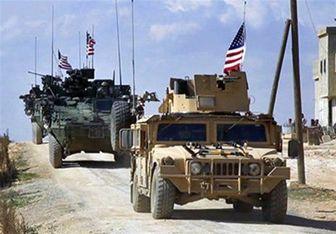 ورود ۱۵۰ کامیون حامل خودروهای زرهی آمریکا به سوریه