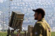 استقرار سامانه گنبد آهنین در شمال فلسطین اشغالی