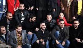 """زن کارتنخوابی که همبازی """"نوید محمدزاده""""  شد/عکس"""