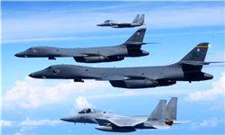 پرواز جنگندههای روس بر فراز ناوشکن آمریکایی