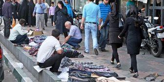از سرگیری فعالیت مجدد دستفروشان در تهران