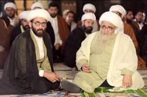 حمید گودرزی و شریفینیا در لباس روحانیت/فیلم