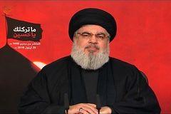 نصرالله: وظیفه داریم کنار ایران بایستیم