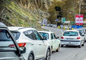 اعمال محدودیت های ترافیکی در محورهای مازندران