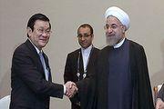 استقبال روحانی از رئیسجمهور ویتنام