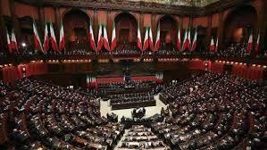 درگیری نمایندگان مجلس ایتالیا در پارلمان