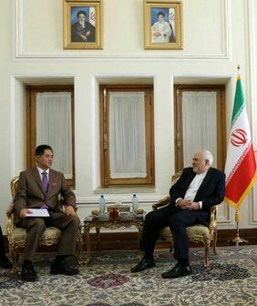 دیدار سفیر کره جنوبی در تهران با محمد جواد ظریف