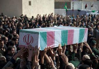 تشییع پیکر مطهر ۱۳۵ شهید گمنام بر دستان مردم تهران تا دقایقی دیگر