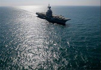 بزرگترین ناو هواپیمابر نیروی دریایی انگلیس سوراخ شد
