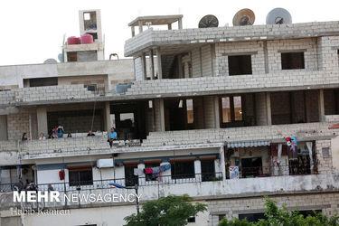 جشن پیروزی بشار اسد