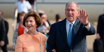 شرکت جورج دابلیو بوش در مراسم تحلیف بایدن