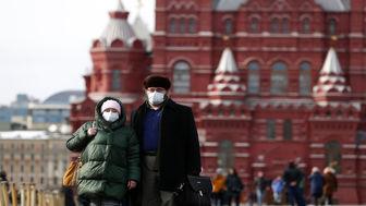 کاهش موارد روزانه ابتلا به کرونا در روسیه به زیر ۱۷ هزار نفر