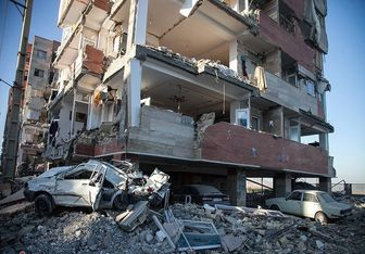 تصویری از محل دفن یک خانواده جانباخته در زلزله