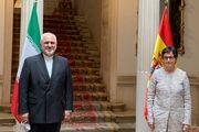 دیدار ظریف با وزیر خارجه اسپانیا