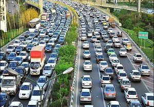آخرین وضعیت ترافیکی معابر بزرگراهی شهر تهران