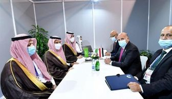 دیدار فواد حسین با وزیر خارجه عربستان