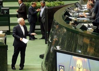 """استیضاح """"ظریف"""" در مجلس کلید خورد"""