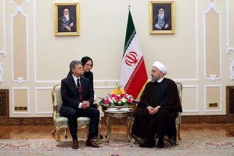 دیدار رئیس مجلس ملی مجارستان با روحانی