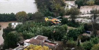 مرگ سه امدادگر فرانسوی در سقوط بالگرد
