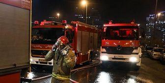 صدای انفجار در غرب تهران