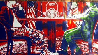 دیوارنگارههای جدید لانه جاسوسی آمریکا رونمایی شدند