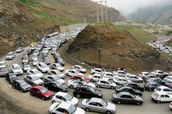 اعلام محدودیت ترافیکی در جادههای تهران-شمال