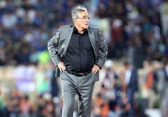 تبریک برانکو به محمد انصاری پس از گلزنی