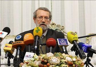 لاریجانی: کسی نمیگوید توافقنامه نقص ندارد