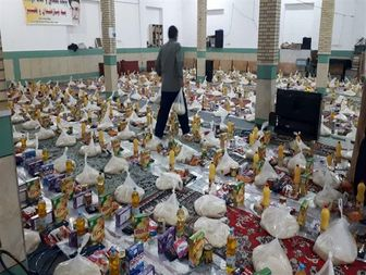 توزیع سه و نیم میلیون بسته معیشتی توسط سازمان بسیج