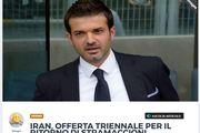 بازتاب مذاکره فتحی با استراماچونی در رسانههای ایتالیا