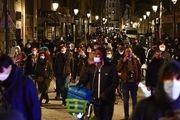 ثبت ابتلای ۲۱ هزار نفر به کرونا در یک روز در فرانسه