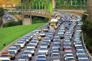 آخرین وضعیت ترافیک بزرگراه های پایتخت