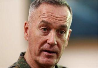 اظهارات رئیس ستاد مشترک ارتش آمریکا درباره اقدام آمریکا علیه ارتش سوریه