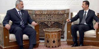 تحرکات جدید برای بهبود روابط حماس و دمشق
