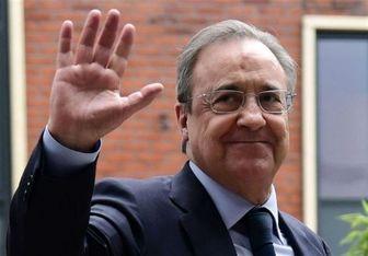 رئیس رئال مادرید در رختکن به بازیکنان چه گفت؟