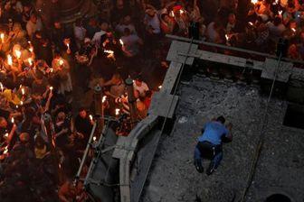 نبش قبر حضرت عیسی(ع) در کلیسای قیامت بیتالمقدس!